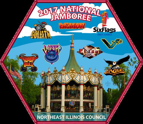 NEIC 2017 Jamboree Alternate Back Patch