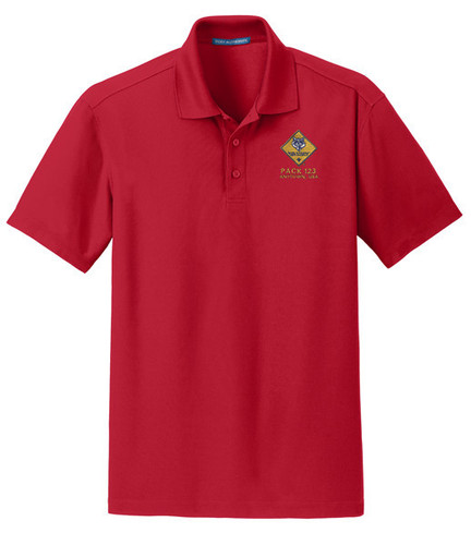Cub Scout Pack Wicking Polo with Cub Scout Logo