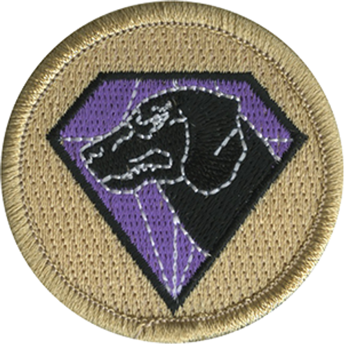 Diamond Dog Scout Patrol Patch - embroidered 2 inch round