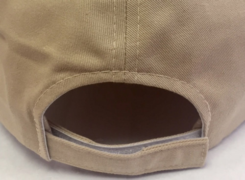 Wood Badge Hat with Wood Badge Logo and Wood Badge Three Beads - Back View