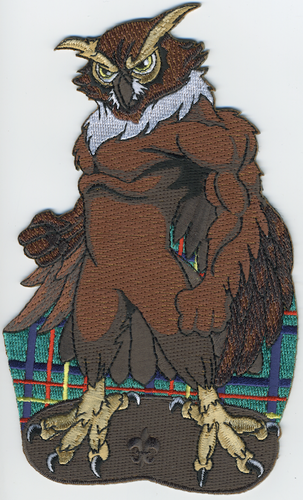 Wood Badge Tough Owl Critter Patch