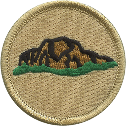 Philmont Scout Patrol Patch - embroidered 2 inch round