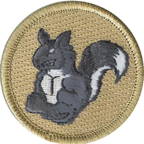 Angry Squirrel Patrol Patch