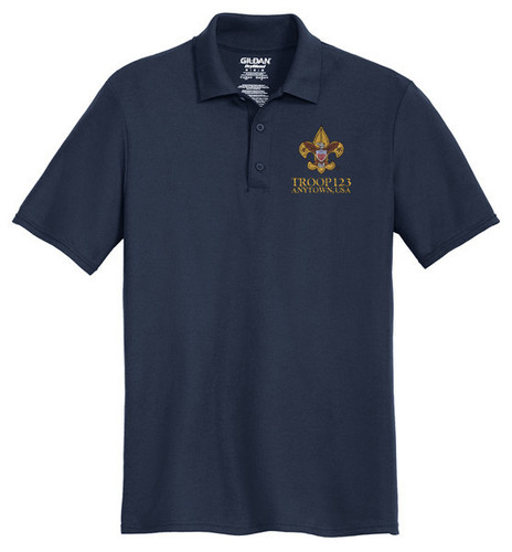 Scouts BSA Cotton Polo with BSA Universal Logo