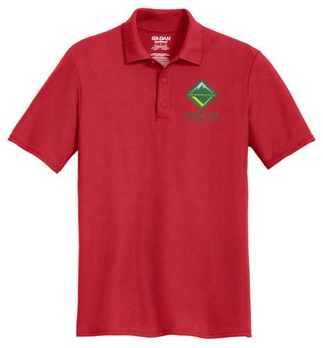 Cotton Pique Polo with BSA Venturing Crew Logo