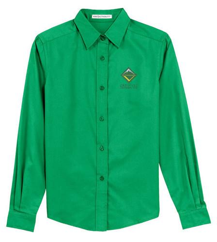 Scouts BSA Venturing Long Sleeve Shirt with BSA Venturing Crew Logo