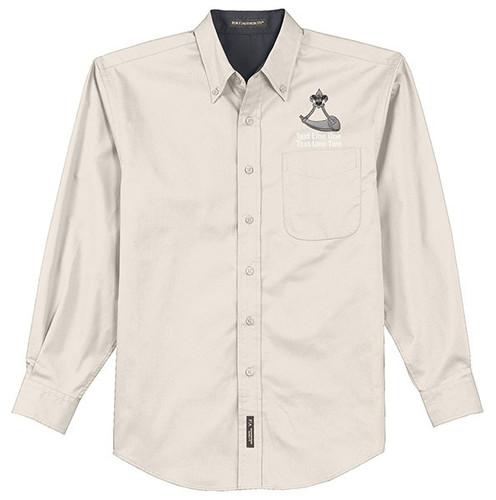 BSA Powder Horn Long Sleeve Shirt With Powder Horn Logo