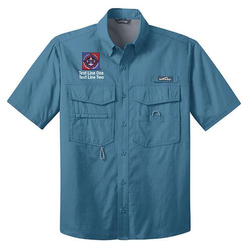 BSA NYLT Short Sleeve Fishing Shirt With NYLT Logo