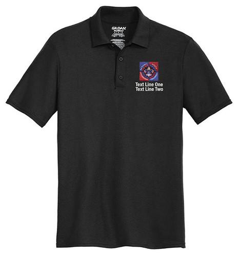 Cotton Pique Polo – Mens with NYLT Logo