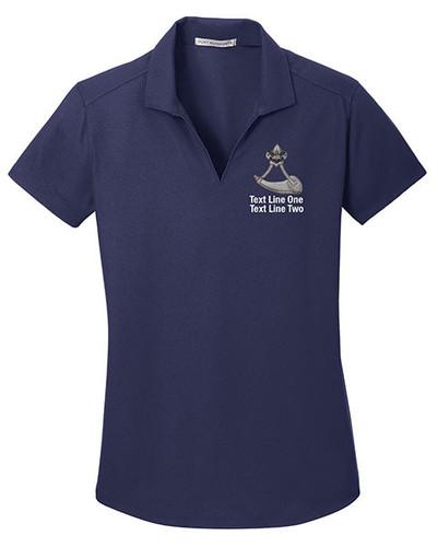 BSA Powder Horn Polo With Powder Horn Logo