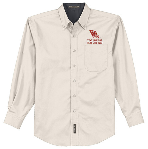 BSA Order of The Arrow Long Sleeve Shirt with Order of The Arrow Logo