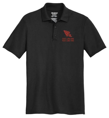 Cotton Pique Polo – Mens with OA Arrowhead Logo