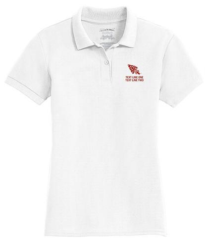 Cotton Pique Polo – Ladies with OA Arrowhead Logo