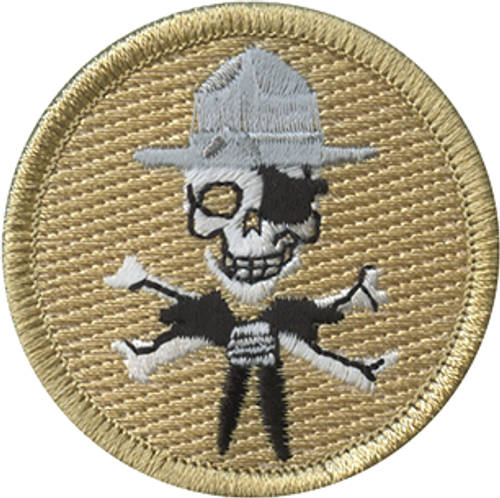 Scout Pirate Scout Patrol Patch - embroidered 2 inch round