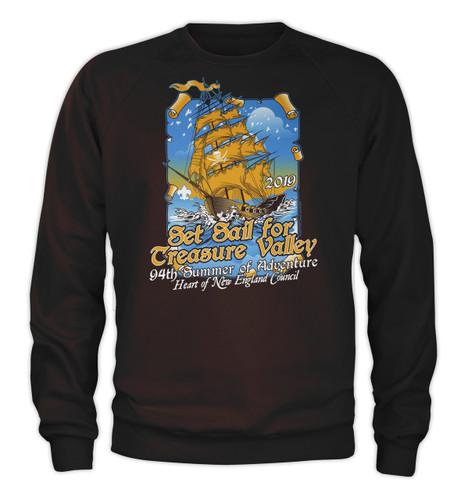 50/50 Sweatshirt  - Treasure Valley Scout Reservation 2019