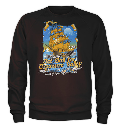 50/50 Sweatshirt  - Treasure Valley Scout Reservation 2019