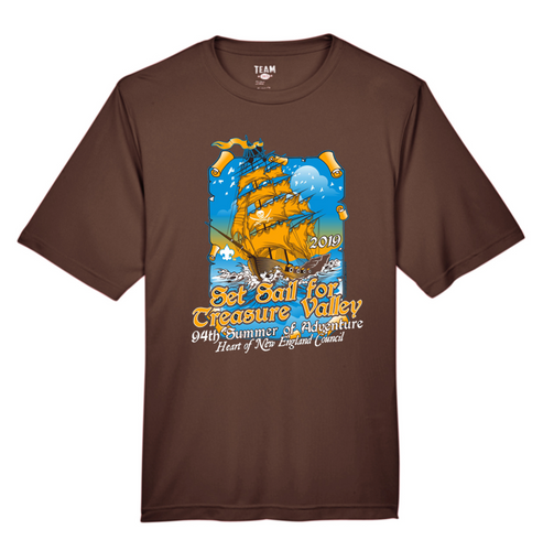 Wicking Short Sleeve Tee - Treasure Valley Scout Reservation 2019