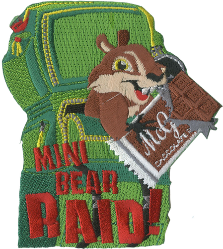 Scouts BSA Patch Squirrel Patch