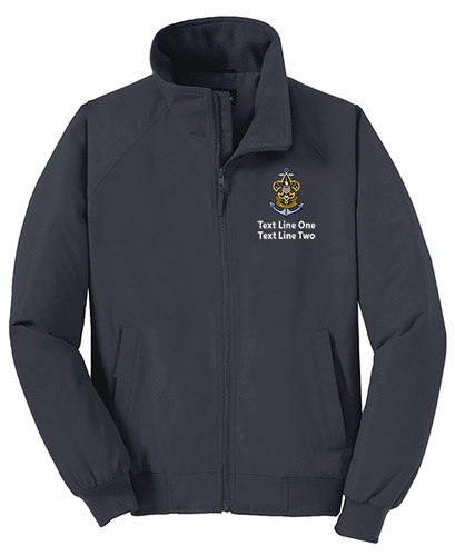 BSA Sea Scout Jacket with Sea Scout Logo - Grey