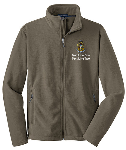 Port Authority Value Fleece Jacket with Sea Scout Logo