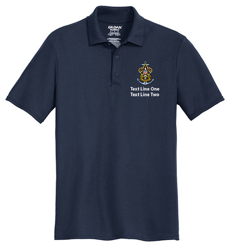 Cotton Pique Polo – Mens with Sea Scout Logo