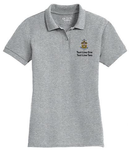 Cotton Pique Polo – Ladies with Sea Scout Logo