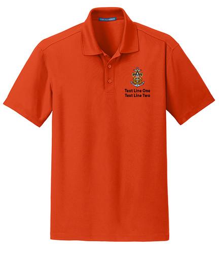 BSA Sea Scout Polo Shirt with Sea Scout Logo - Orange