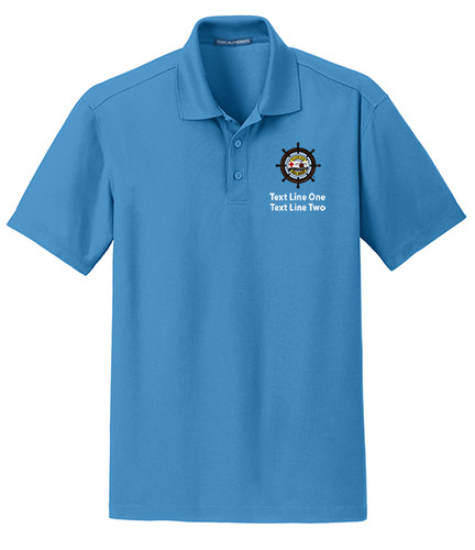 Dry Zone® Grid Wicking Polo with Sea Base Logo