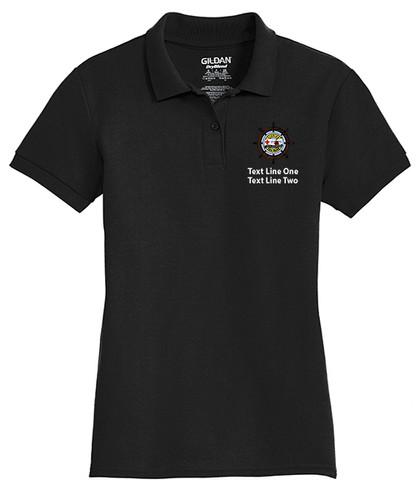 Cotton Pique Polo – Ladies with Sea Base Logo