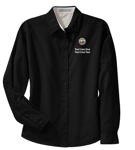 BSA Sea Base Long Sleeve Shirt with Sea Base Logo - Black