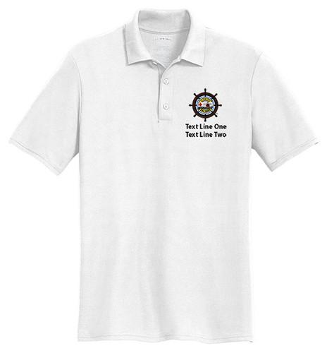 Cotton Pique Polo – Mens with Sea Base Logo