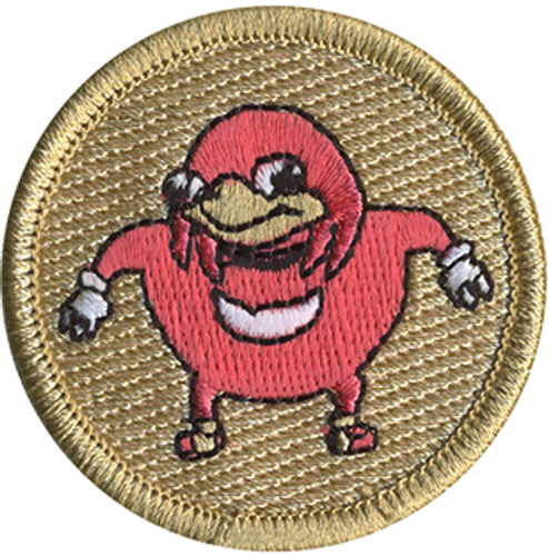 Do Way Scout Patrol Patch - embroidered 2 inch round