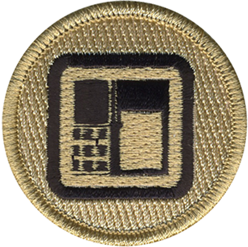 ATM Scout Patrol Patch - embroidered 2 inch round