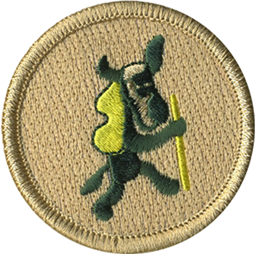 Old Pedro Scout Patrol Patch - embroidered 2 inch round