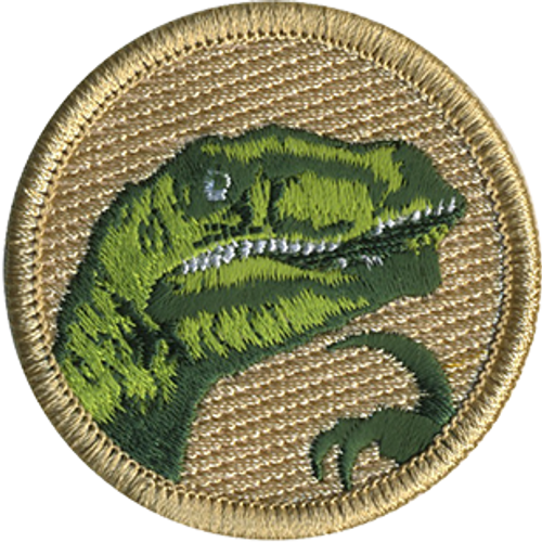 Raptor Meme Scout Patrol Patch - embroidered 2 inch round