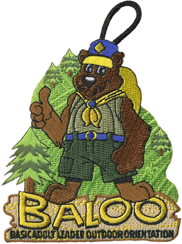 Cub Scout Pack Patch Baloo Patch