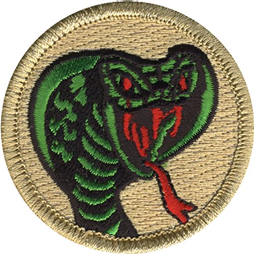 Red Eyed Cobra Patrol Patch