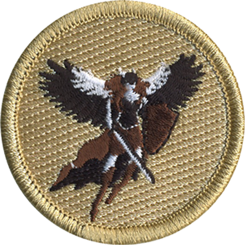 Artemis Scout Patrol Patch - embroidered 2 inch round