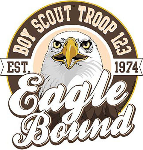 BSA Eagle Scout Sticker Pack with Eagle Design