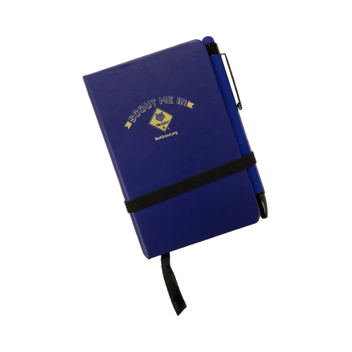 A go-anywhere 80 blank page notebook.