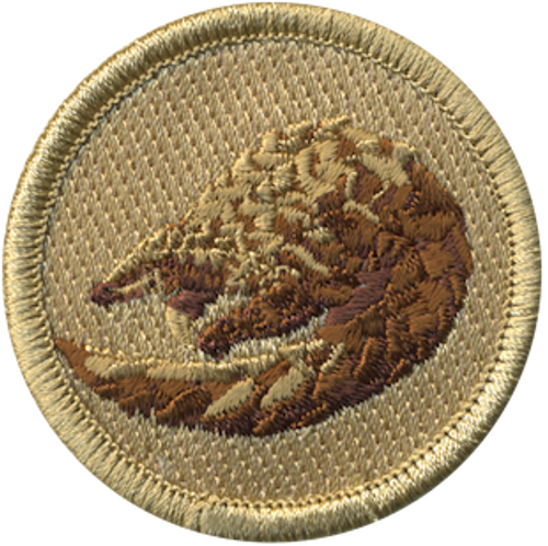 Pangolin Patrol Patch