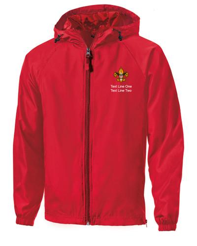 Scouts BSA Red Sport Tek Jacket with BSA Universal Logo