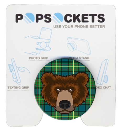 Wood Badge Bear Popsocket