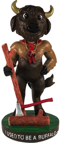 Wood Badge Buffalo Critter Bobblehead