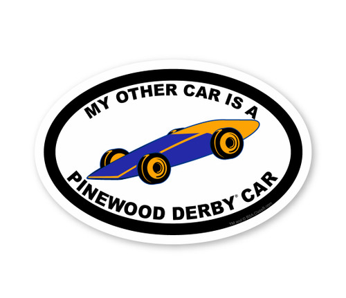 Cub Scout Pinewood Derby Sticker Pack