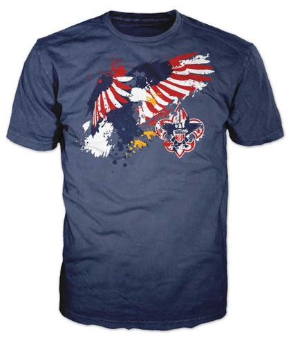Eagle Splatter T-Shirt #2 (SP7229)