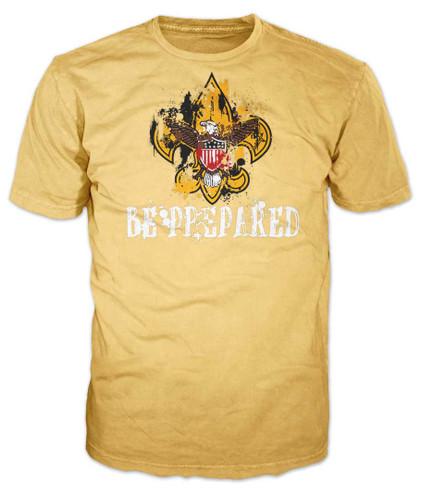 Universal Logo Be Prepared Splatter T-Shirt (SP7231)