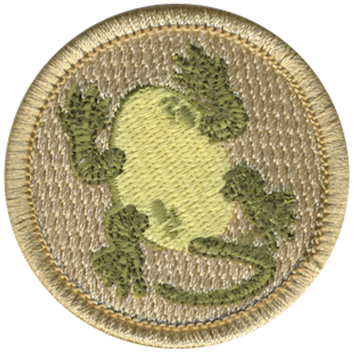 Egguanas Scout Patrol Patch - embroidered 2 inch round