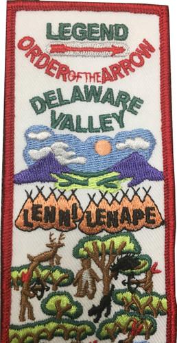 Scouts BSA Sash Patch BSA Order of The Arrow Patch with Legend Lenni Lenape