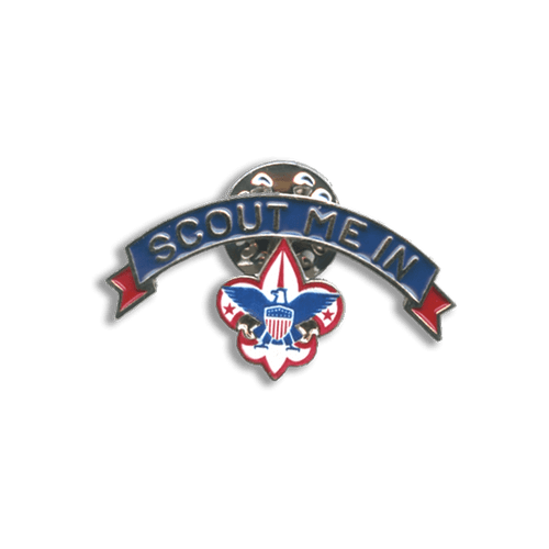 Scout Me In BSA Lapel Pin